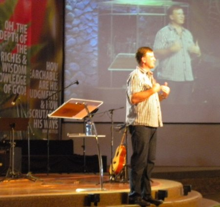 Peter sharing at CityHill Church 6th March 2011