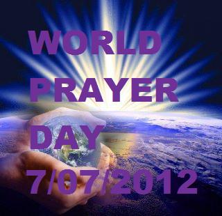 In Gods hands WORLD PRAYER DAY