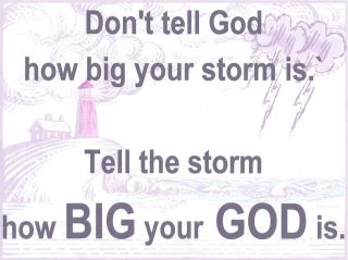 BIG YOUR GOD IS