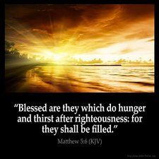 blessed are they