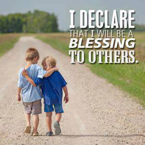 blessing unto others